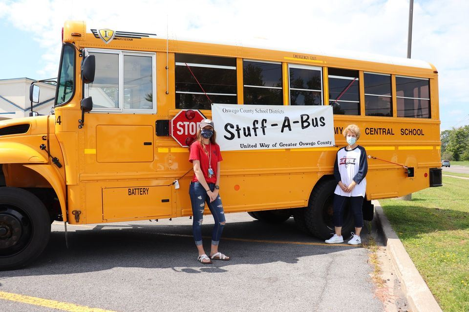 PACS Stuff-A-Bus Campaign Garners Support from Community, United Way