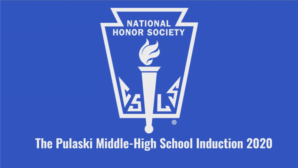 National Honor Society 2020